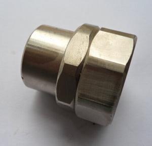 China Hard Steel Machining Titanium Alloys Precision CNC Machining / Forging Parts on sale