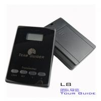 Quality cheap L8 black Tour Guide Audio System Transmitter And Receiver For Team for sale