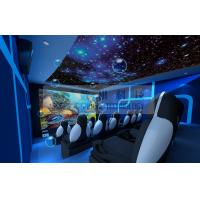 China Motion Rides 5D Movie Theater Equipment 1 Seat 2 Seats 3 Seats With Electric System wholesale