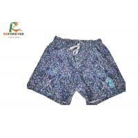 Buy cheap Sublimation Printing Waterproof 4 Way Stretch Mens Printed Swim Trunks from wholesalers