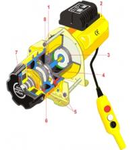 China 10T hydraulic winch wholesale