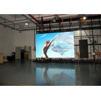 China Electronic RGB P3.91 Indoor Advertising Display Black SMD2121 Back Stage Background on sale