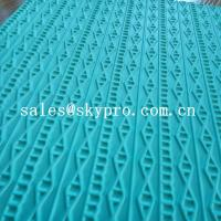 China High density rubber sheet for shoe 3D pattern recycle eva shoes sole material on sale