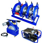 China Hydraulic Semi Automatic HDPE Pipe Butt Fusion Welding Machine Φ 160mm To Φ 355mm wholesale