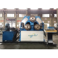 China 3 Rolls Angle Steel 2000mm Hydraulic Pipe Bending Machine on sale