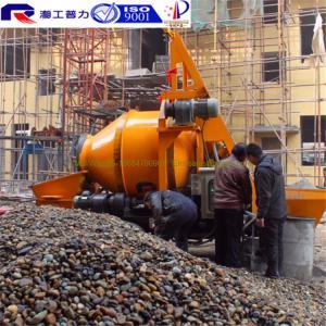 China Pully JBT40-P1 hydraulic pump concrete mixer, concrete pump with mixer, mixer concrete machinery wholesale