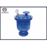 China 12 Inch Automatic Air Relief Valve , Cast Iron Air Pressure Relief Valve wholesale