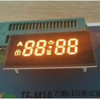China Bright Amber 4 Digit Seven Segment Display Common Anode For Oven Timer Control wholesale