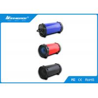 China Portable Outdoor Small Bluetooth Speakers V2.0 / Cylinder Wireless Speaker wholesale