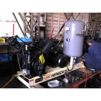 China 10HP 30Bar Piston Type Air Compressor , Low Noise Oil Free Air Compressor wholesale