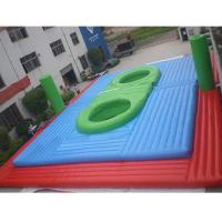 China Inflatable Waterproof and Fireproof Bossaball Filed Sport Games Price on sale