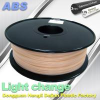 China ABS Light Change Color Changing Filament Stable In Performance wholesale