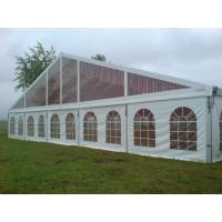China White PVC Sidewall European Style Tents Aluminum Alloy Structure Party Canopy wholesale