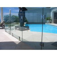 China Baby Guard Rail DIY Glass Pool Fencing With Tempered Glass Gate wholesale