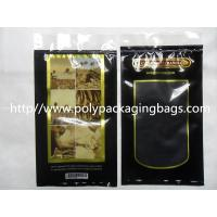 China Moisturized System Cigar Humidor Bags Ziplocked with slider Easy Open & Close on sale