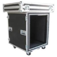 China Print Logo Rack Case Aluminum Storage Cases With Anti - shock Foam Inside wholesale
