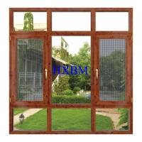 China German Style Timber Doors And Windows , 68mm Frame Wood Casement Windows on sale