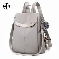 China PU leather quilted backpacks simple design girl bag backpack wholesale price blank backpack wholesale
