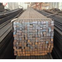 Heat Resistant 25mm Square Steel Bars Cold Drawn Silvery Bright
