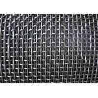 China Smooth Hooked Galvanized Wire Mesh / Quarry Screen Mesh Low Carbon Steel wholesale