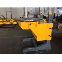 China Gear Tilt Pipe Welding Positioners 1200mm Table Diameter Rolling VFD wholesale