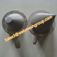 China Stainless steel mesh conical strainer wholesale