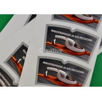 Quality Custom Vinyl Custom Sticker Labels CMYK Offset Printing For Electronic Products for sale