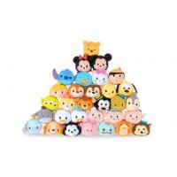 Quality Hot Disney Tsum Tsums Collection Plush Toys For  Mobile Phone Screen Cleaner Keychain Bag for sale