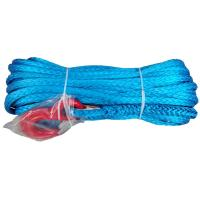 China 14mm*45m Offroad Car Synthetic Winch Cable Non Rotational Minimal Stretch wholesale