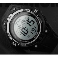 Quality New Men Fashion Outdoor Multifunction Wrist Watch Water Resist 50M 1/100S Chrono for sale