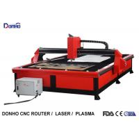 China Red Color Plasma Metal Cutting Machine with 2000 mm x 3000 mm Working Size wholesale
