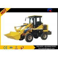 Quality 42kw Power Small Wheel Loader , Front End Wheel Loader Dimension 4900×1650×2600mm for sale