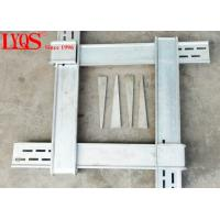 China Steel Column Form Clamps Adjustable 8.2ft -9.8ft With Silver Galvanized Surface wholesale