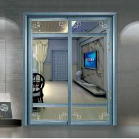 Quality Residential Aluminium Sliding Patio Doors / Sliding Glass Interior Doors Frosted for sale