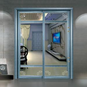 China Residential Aluminium Sliding Patio Doors / Sliding Glass Interior Doors Frosted wholesale