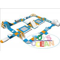 China 0.9 PVC Ocean Inflatable Water Park Sport Amusement With EN71-2-3 Lake wholesale