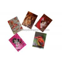 China Small Size Adhesive 3D Lenticular Stickers PET/ PP Printing For Key Chain wholesale