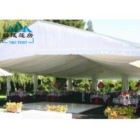 Large Wind Resistant Outdoor Party Tents 3M - 60M For Wedding Reception