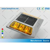 China Active Solar Barricade Lights With Reflectors Double sides LEDs SRS0404 wholesale