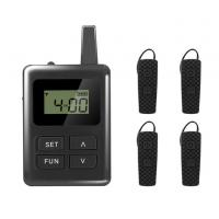 China Long Distance Tour Guide Receiver , E8 Ear Hanging Travel Tour Guide System wholesale