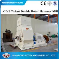 China Multi functional Wood Sawdust Hammer Mill Feed Grinder Crusher With High Capacity wholesale