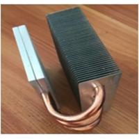 China Oem Fin Copper Heat Sink Copper Pipe HeatSink For Surface Mount Device wholesale