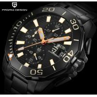 China PAGANI DESIGN Men 316L Stainless Steel  6 Hands Multifunction Chronograph Wrist Watches PD-1617 wholesale