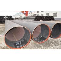 China Hydraulic Fluid Round ERW Welded Tube , SCH X52 Welded Steel Pipe 6.35 ~ 50mm wholesale