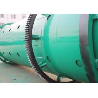 China Drum Rotary Fertilizer Granulation Equipment / Carbon Steel Organic Fertilizer Granulator wholesale