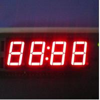 China Super Red Instrument Panel Four Digit Seven Segment Display 0.56 Inch Size wholesale