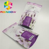 China Heat Seal Zipper Cosmetic Bags , Aluminum Foil Face Mask Packaging For Skin Care on sale