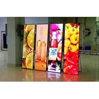 China SMD1010 Flexible Indoor Led Poster Display P2.6 Small Pitch 3 In 1 Front Service on sale