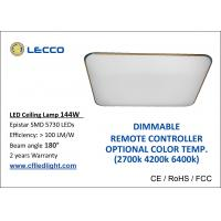 Buy cheap 144W SMD 5730 LED Ceiling Lamp Dimmable With Remote Controller from wholesalers
