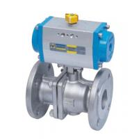 Buy cheap Double Acting Actutator Stainless Steel Flanged Ball Valve from wholesalers